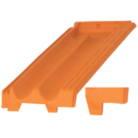 LATERAL MERIDIAN ROOF TILE rIGHT